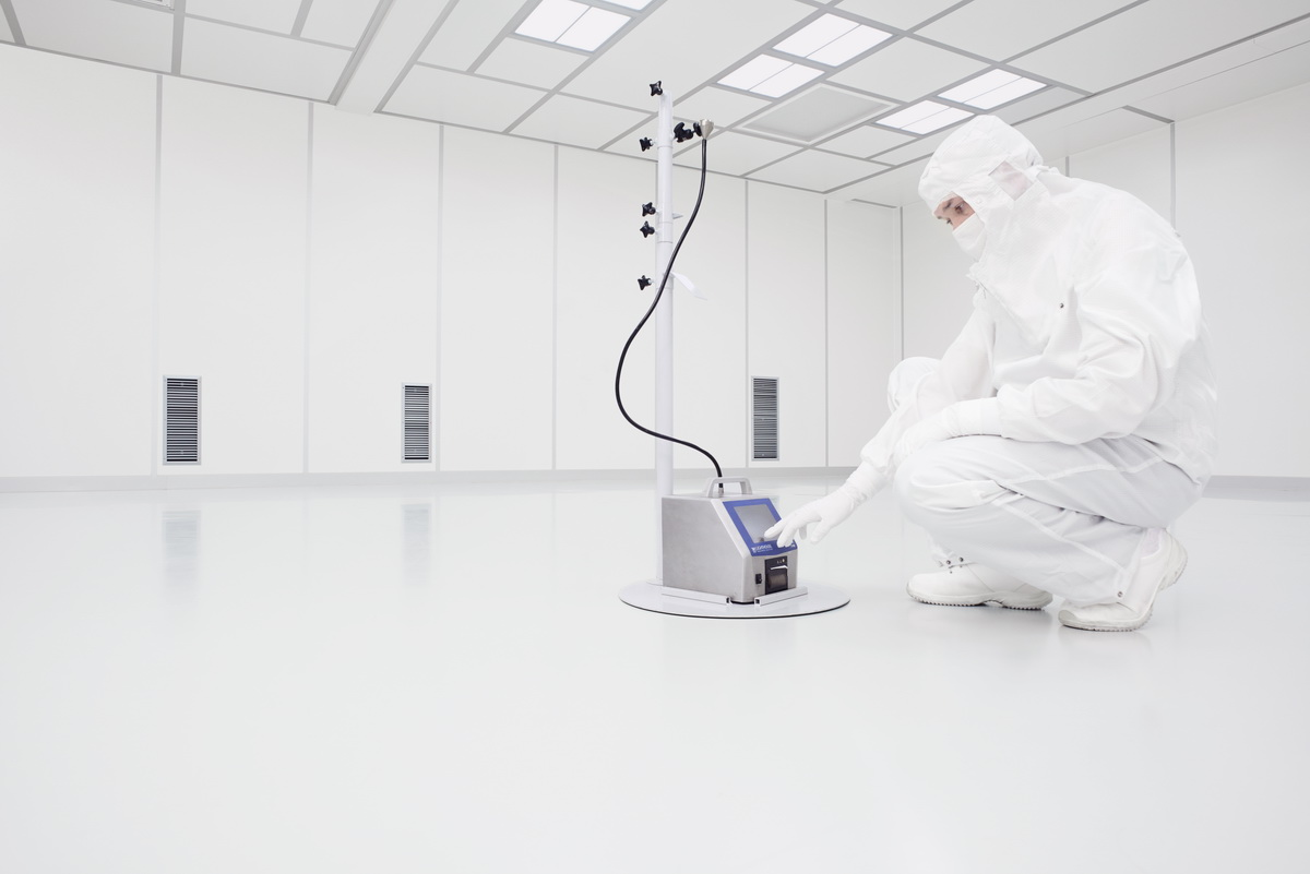 Cleanroom qualification for the pharmaceutical industry